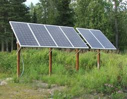 solar array country